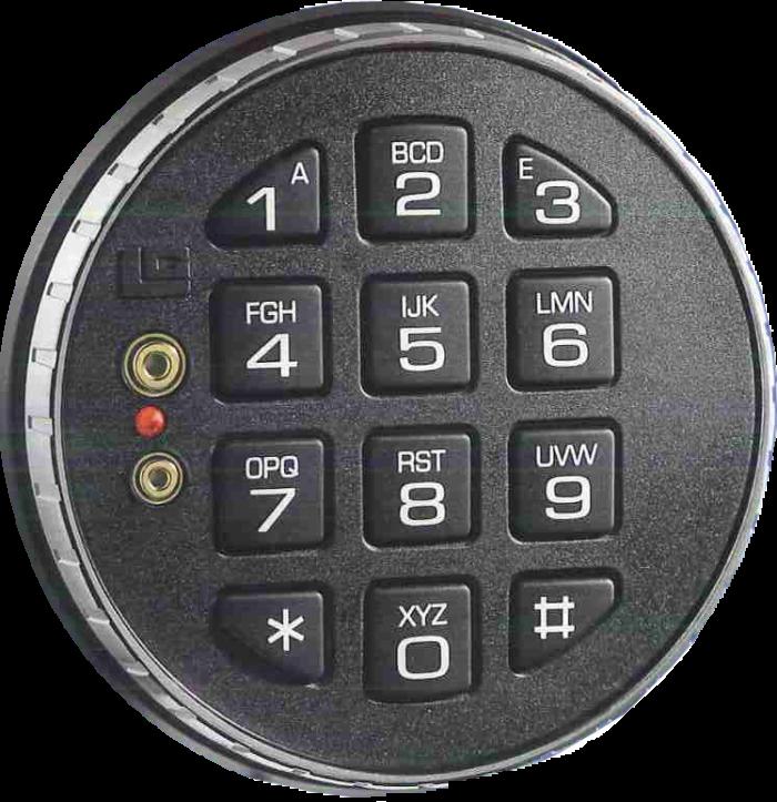 La Gard Comboguard 33E Safe Lock